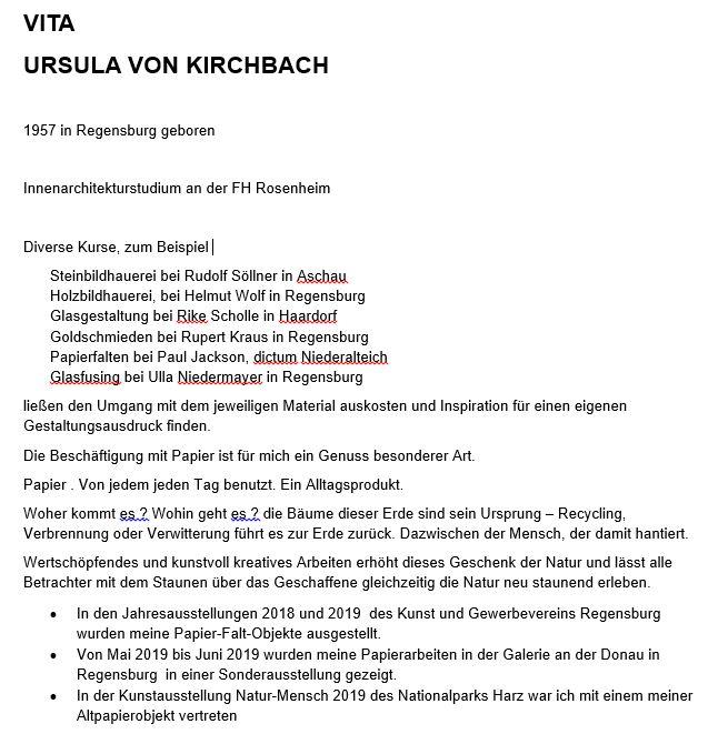 Vita Ursula von Kirchbach