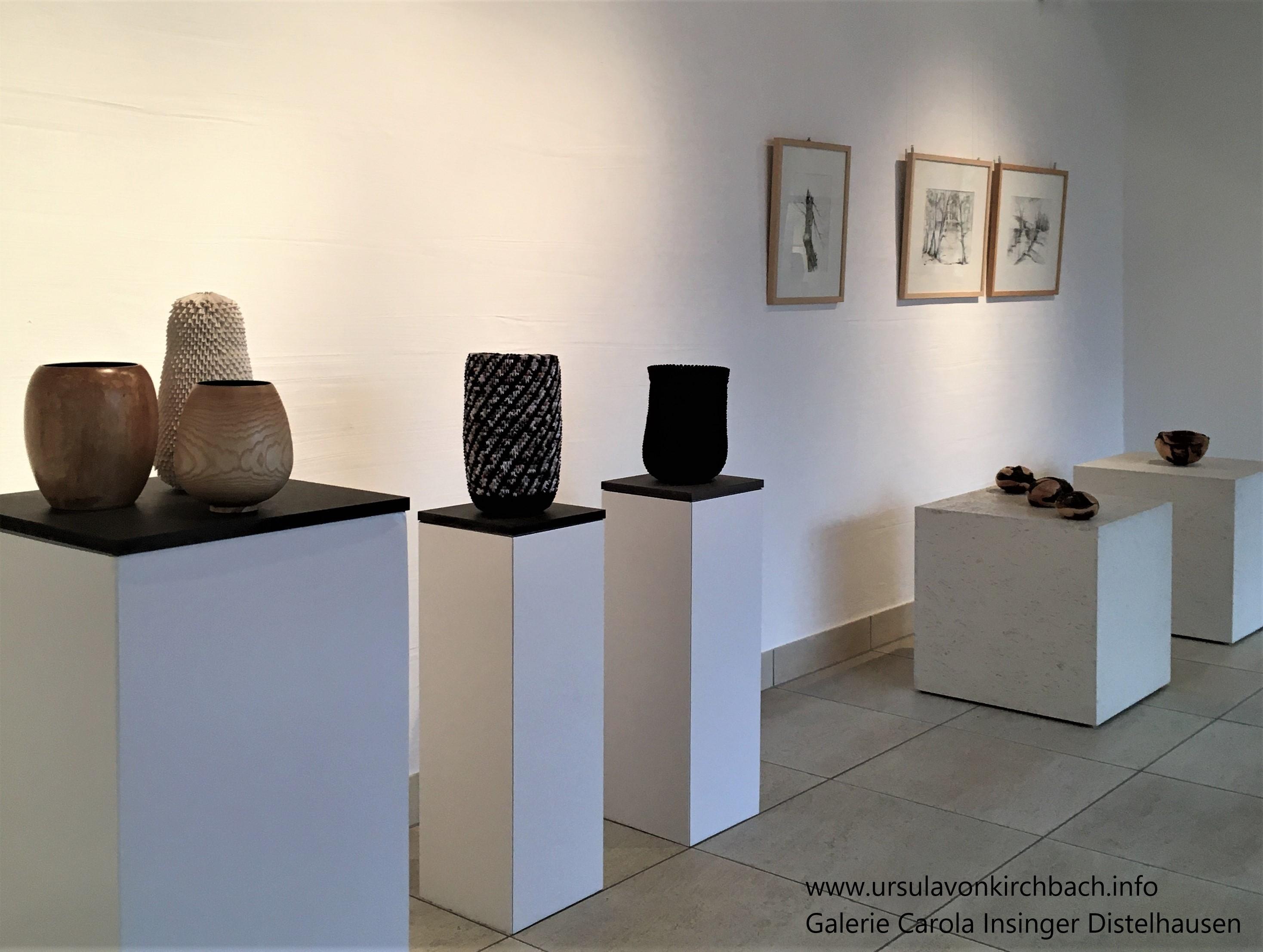 Galerie Carola Insinger Distelhausen -Eingang